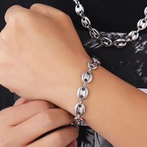 Stainless Steel Hip Hop Bracelet